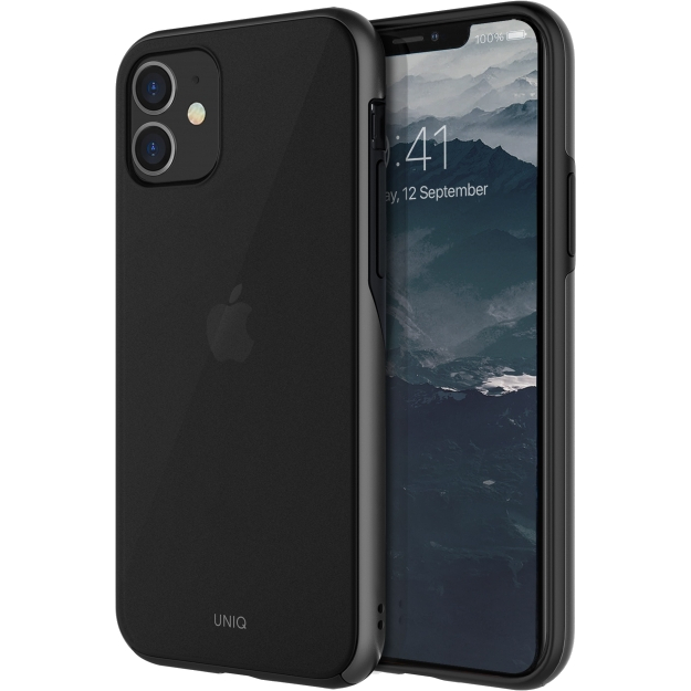 Чехол Uniq iPhone 11 Vesto серый