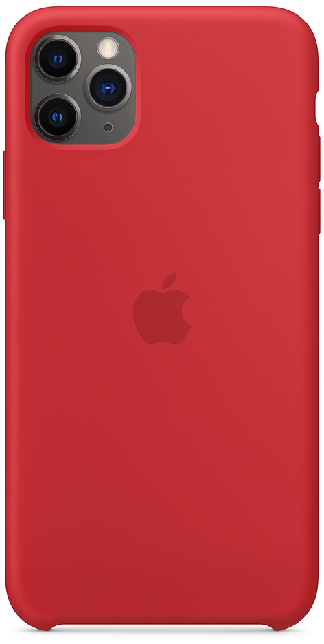 Чехол IPhone 11 Pro Max Silicon Case MWYV2ZM/A Red