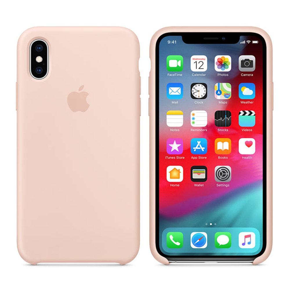 Чехол IPhone XS Silicon Case MTF82ZM/A Pink Sand