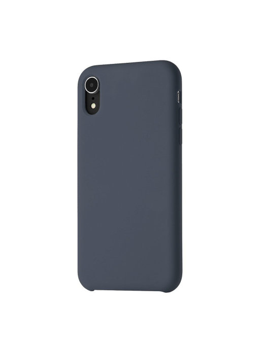 Чехол uBear Touch Case для iPhone XR (CS39DB01-I18) (темно-синий)
