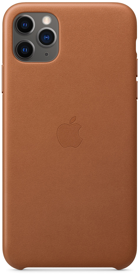 Чехол IPhone 11 Pro Max Leather Case MX0D2ZM/A Saddle Brown