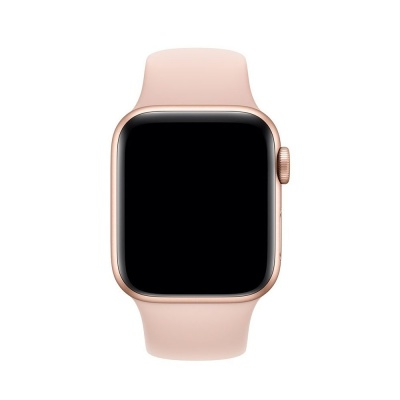 Ремешок Apple Watch 44MM Pink Sand Sport Band- S/M & M/L (MTPM2ZM/A)